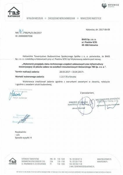 KTBS płace - referencje