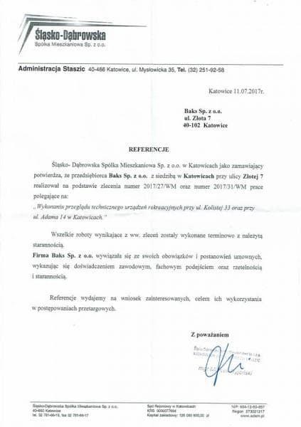 SDSM place - referencje