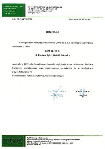 referencjeprzedsiebiorstwo-remontowo-budowlane-TOR-Myslowice